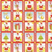 """Набор вафельных полотенец """"Веселые морозы"""" (3 шт.)"""