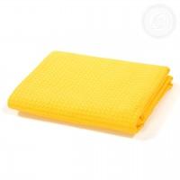 """Банное вафельное полотенце """"Желтое"""""""